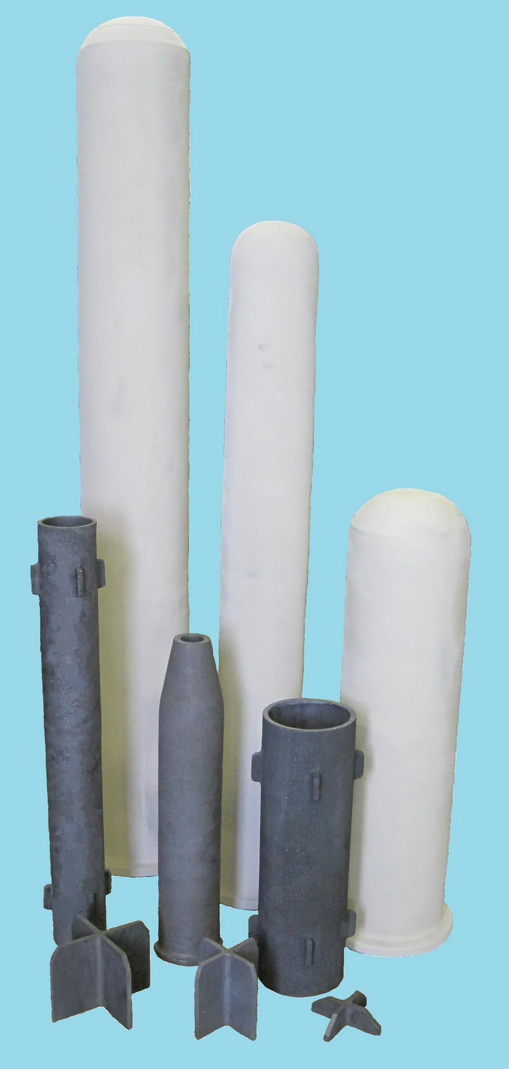 фото Радиационные трубы из карбида кремния
